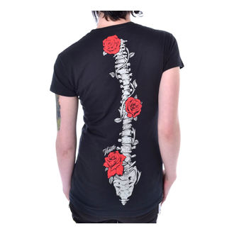 Damen T-Shirt - ROSE RIB - VIXXSIN, VIXXSIN