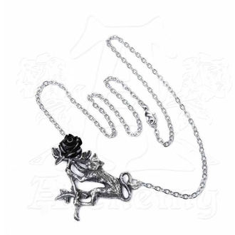 Anhänger Halskette ALCHEMY GOTHIC - Rosenkatze, ALCHEMY GOTHIC