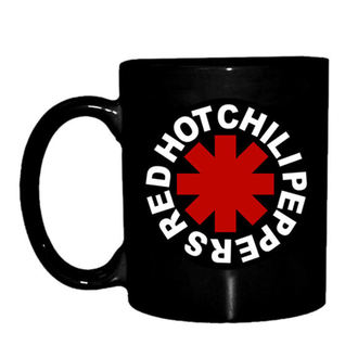 Tasse Red Hot Chili Peppers - Astrisk Logo - Schwarz, NNM, Red Hot Chili Peppers