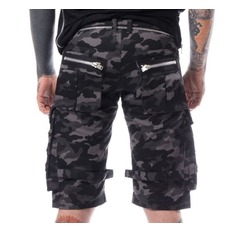 Herren Shorts Heartless - ARVID - GRAU CAMO, HEARTLESS
