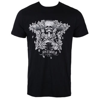 Herren T-Shirt Metal Guns N' Roses - Skeleton Guns - ROCK OFF, ROCK OFF, Guns N' Roses