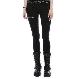 Damen Jeans PUNK RAVE - Black Star, PUNK RAVE