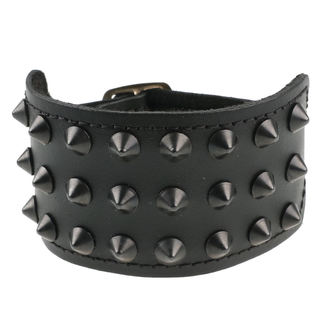 Armband Kegel Cones 3, BLACK & METAL