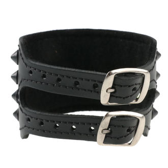 Armband Kegel Cones 4, BLACK & METAL