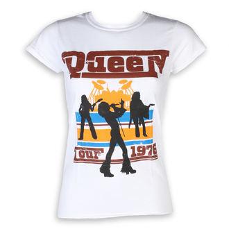 Damen T-Shirt Metal Queen - 76 Tour - ROCK OFF, ROCK OFF, Queen