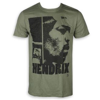 Herren T-Shirt Metal Jimi Hendrix - Let Me Live - ROCK OFF, ROCK OFF, Jimi Hendrix