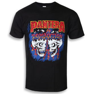 Herren T-Shirt Metal Pantera - Domination - ROCK OFF, ROCK OFF, Pantera