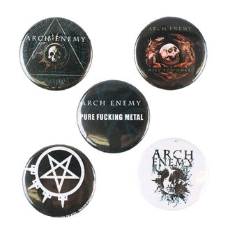 Ansteckbutton Set Arch Enemy - RAZAMATAZ, RAZAMATAZ, Arch Enemy