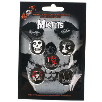 Ansteckbutton Set Misfits - RAZAMATAZ
