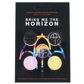 Ansteckbutton Set Bring Me The Horizon - RAZAMATAZ, RAZAMATAZ, Bring Me The Horizon