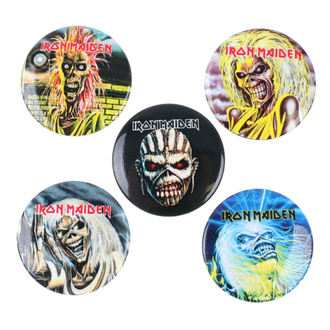 Ansteckbutton Set Iron Maiden - RAZAMATAZ, RAZAMATAZ, Iron Maiden