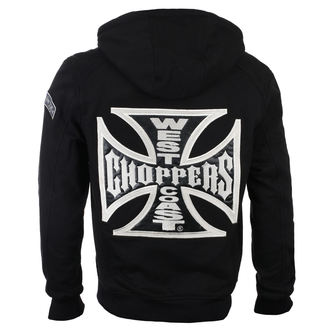 Herren Kapuzenpullover - CROSS PANEL - West Coast Choppers, West Coast Choppers