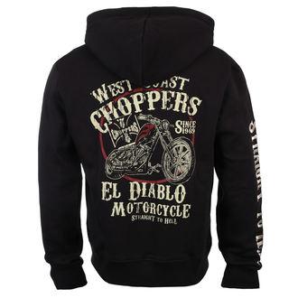 Herren Hoodie - EL DIABLO - West Coast Choppers