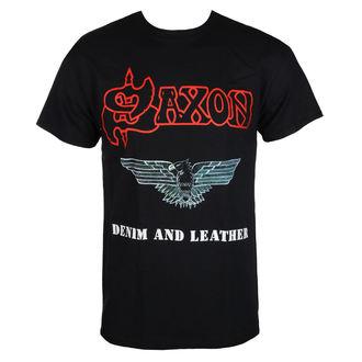 Herren T-Shirt Metal Saxon - DENIM & LEATHER - RAZAMATAZ, RAZAMATAZ, Saxon