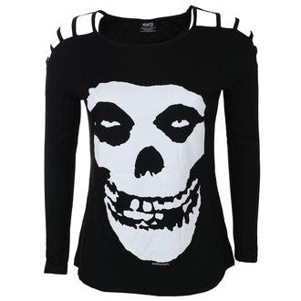 Damen Langarmshirt Metal Misfits - SKULL - LIVE NATION, LIVE NATION, Misfits