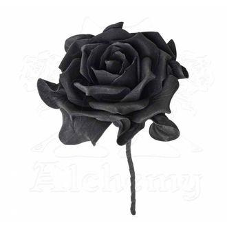 Dekoration Schaumrose ALCHEMY GOTHIC - Single Black Rose with Stem, ALCHEMY GOTHIC