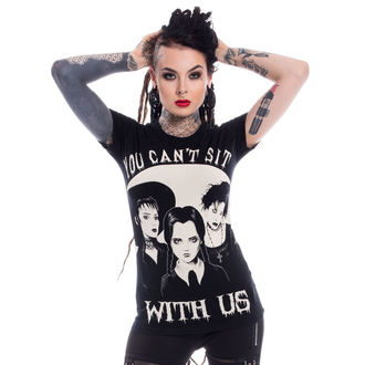 Damen T-Shirt - SIT WITH US - HEARTLESS, HEARTLESS