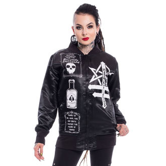 Damen Jacke Frühling/Herbst - SIT WITH US VARSITY - HEARTLESS