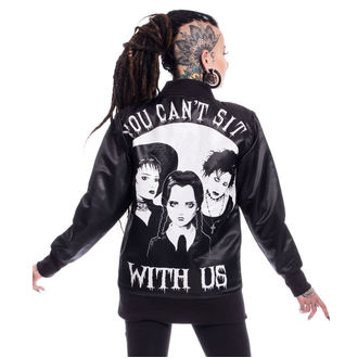 bunda dámská HEARTLESS - SIT WITH US VARSITY - BLACK, HEARTLESS