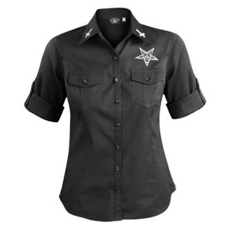 Damen 3/4 Arm Hemd Bluse AMENOMEN - BELIEVE IN YOURSELF, AMENOMEN