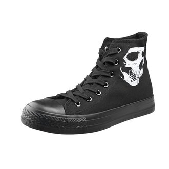 Unisex Low Sneakers - Skull 2 - AMENOMEN, AMENOMEN