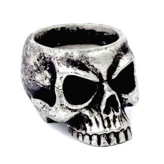 Deko Kerzenhalter ALCHEMY GOTHIC - Skull Tea, ALCHEMY GOTHIC