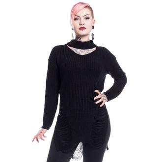 Damen Pullover Vixxsin - SLIT NECK DECAY - SCHWARZ, VIXXSIN