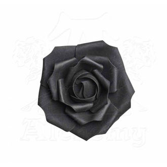 Dekoration Schaumrose ALCHEMY GOTHIC - Small Black Rose Head, ALCHEMY GOTHIC