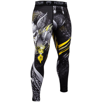Herren Training Leggings (Kompressionshose) Venum - Viking 2.0 - Schwarz/Gelb, VENUM