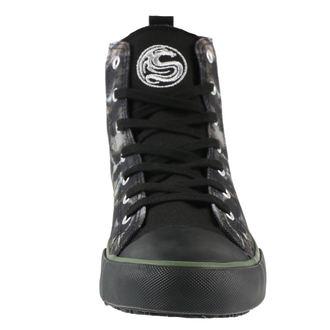 Herren High Top Sneaker SPIRAL - CAMO-SKULL - Turnschuhe, SPIRAL