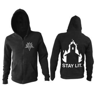 Herren Hoodie - Stay Lit - BLACK CRAFT