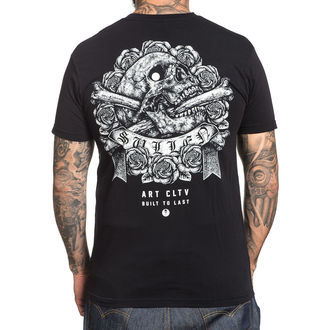 Herren T-Shirt Hardcore - STIPPLE SKULL - SULLEN, SULLEN