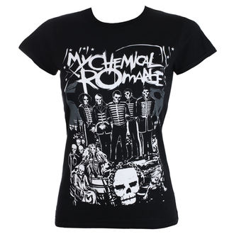 Damen T-Shirt Metal My Chemical Romance - DEAD PARADE - PLASTIC HEAD, PLASTIC HEAD, My Chemical Romance