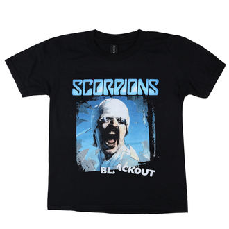 Kinder T-Shirt Metal Scorpions - Blackout - LOW FREQUENCY, LOW FREQUENCY, Scorpions