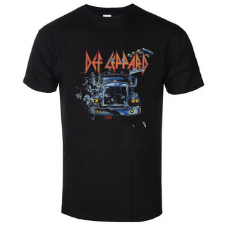 Herren T-Shirt Metal Def Leppard - On through the night - LOW FREQUENCY, LOW FREQUENCY, Def Leppard