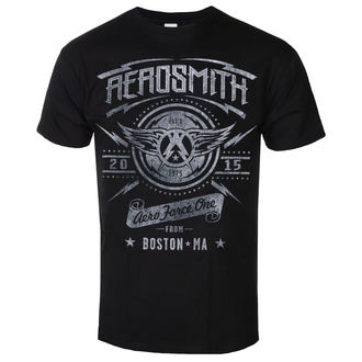 Herren T-Shirt Metal Aerosmith - Aero Force One - LOW FREQUENCY, LOW FREQUENCY, Aerosmith