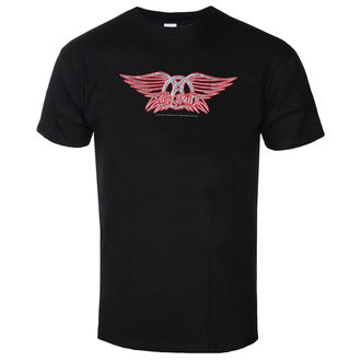 Herren T-Shirt Metal Aerosmith - Logo - LOW FREQUENCY, LOW FREQUENCY, Aerosmith