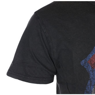 Herren T-Shirt Metal Rolling Stones - B & L Vtge - ROCK OFF, ROCK OFF, Rolling Stones
