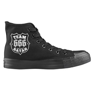 Unisex Low Sneakers - Team Satan - AMENOMEN, AMENOMEN