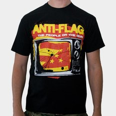 Herren T-Shirt Anti Flag (The People Or The Gun), KINGS ROAD, Anti-Flag