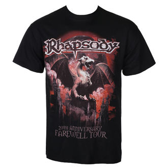 Herren T-Shirt Metal Rhapsody - 20TH ANNIVERSARY - RAZAMATAZ, RAZAMATAZ, Rhapsody