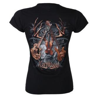 Damen T-Shirt Metal Korpiklaani - SHAMAN DRUM - RAZAMATAZ, RAZAMATAZ, Korpiklaani