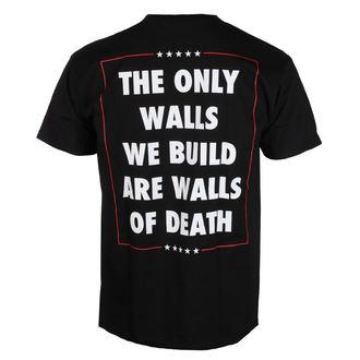 Herren T-Shirt Metal Municipal Waste - The only walls we build - NUCLEAR BLAST, NUCLEAR BLAST, Municipal Waste