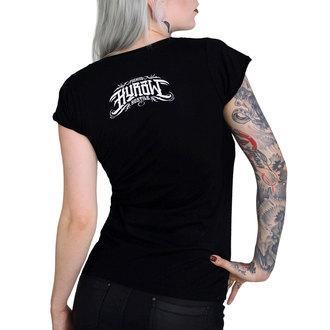 Damen T-Shirt Hardcore - QUEEN OF THE PIT - HYRAW, HYRAW