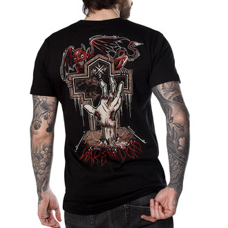 Herren T-Shirt Hardcore - WAKE THE DEAD - HYRAW, HYRAW