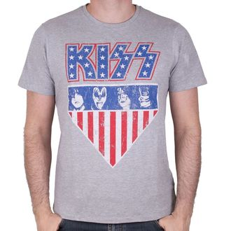 Herren T-Shirt Metal Kiss - AMERICAN STYLE - LEGEND, LEGEND, Kiss