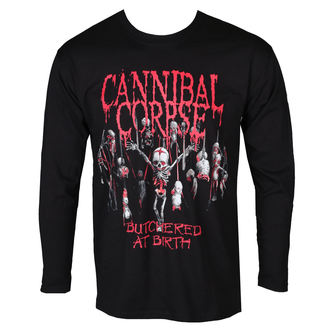 Herren Longsleeve Metal Cannibal Corpse - BUTCHERED AT BIRTH BABY - PLASTIC HEAD, PLASTIC HEAD, Cannibal Corpse