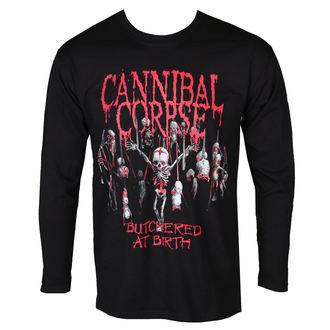 Herren Longsleeve Metal Cannibal Corpse - BUTCHERED AT BIRTH BABY - PLASTIC HEAD, PLASTIC HEAD, Cannibal Corpse