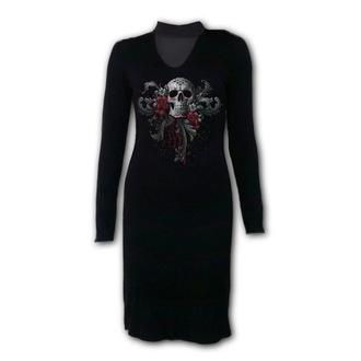 Damen Kleid SPIRAL - SKULL ROSES, SPIRAL