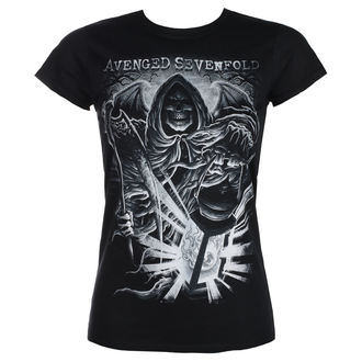 Damen T-Shirt Metal Avenged Sevenfold - REAPER LANTERN - PLASTIC HEAD, PLASTIC HEAD, Avenged Sevenfold